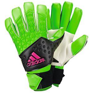adidas ace zones Fingertip Fußball Torwart-Handschuhe Grün AH7806, Größenauswahl:7 / ca. 75 mm - 80 mm