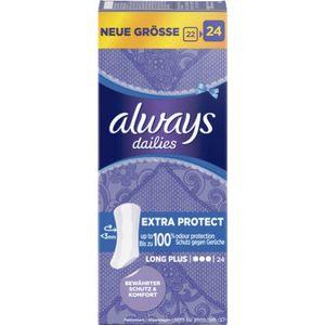 Always Slipeinlage Extra Protect Lang+ 24 Stück