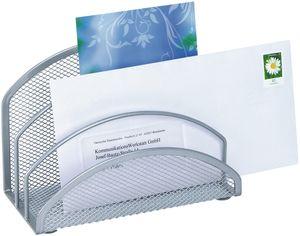 WEDO Briefständer Office aus Drahtmetall silber