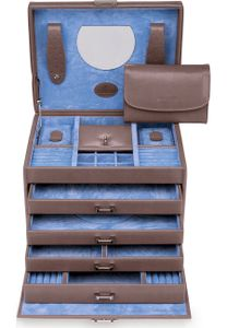 WINDROSE Merino Moda Jewelry Box Grey