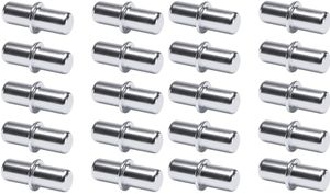 20x Bodenträger 3mm stahl Regal Halterung Träger Regalbodenträger Regalstifte