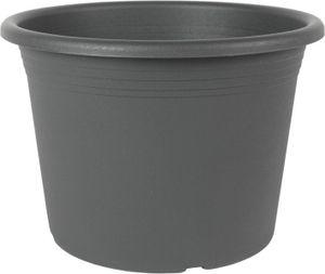 Pflanzkübel Cylindro, Farbe:Anthrazit, Größe:ø80 cm