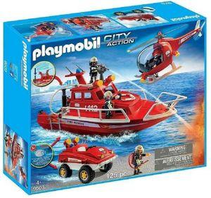 PLAYMOBIL 9503 Feuerwehr Spezialeinheiten