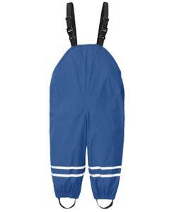 Kinder Regenlatzhose Regenhose wasserdichte Atmungsaktiv Buddelhose Matschhose mit Hosenträgern für Mädchen Jungen122/128