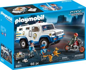 Playmobil 9371 City Action Geldtransporter