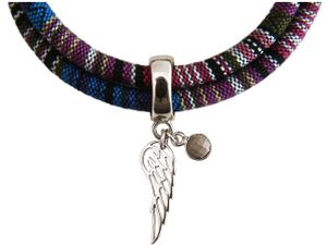 Damen Armband Wickelarmband 925 Silber Flügel Engel AZTEC Türkis