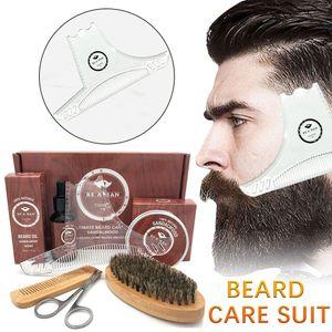 Bartpflegeset Bartpflegeset Bart Bart Creme Wachs Bart Pinsel Bart Kamm 30ml FHU91106006C