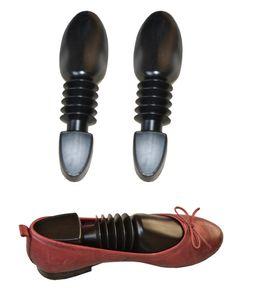 Schnelle Lieferung - Omeere - 10er Set Paar Schuhspanner mit Spiralfeder für Damen, ca. 25 cm lang