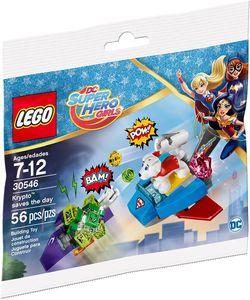 Lego 30546 DC Super Hero Girls  Krypto rettet den Tag  Polybag