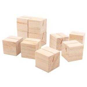 Kartenhalter Hochzeit Holz Tischkartenhalter 10pcs Fotohalter Platzkartenhalter Memohalter Sitzkartenhalter