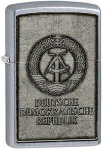 ZIPPO ® Feuerzeug 60005141 DEUTSCHE DEMOKRATISCHE REPUBLIK