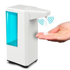 Berührungslos Spender Automatisch u. Kontaktlos No Touch Spender Automat mit Sensor für Desinfektionsmittel Seife Lotion 500ml