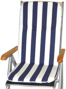 HVI Paspelauflage Hochlehner HL Capri, MS08 Streifen dunkelblau