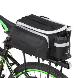 LED Profi Fahrradtasche Multifunktional Gepäckträger Gepäcktasche Satteltasche