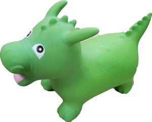 Hopser Hüpftier Hüpfpferd Hüpfer Hüpfen Kinder ab 2 Jahre inkl. Pumpe Modell : grüner Drache