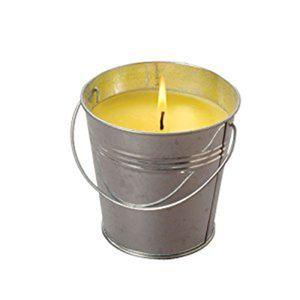 CITRONELLA Kerze im Eimer Anti Mücken Outdoor Windlicht