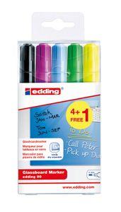 edding Glasboard-Marker 90 5er Set