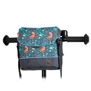 BAMBINIWELT Lenkertasche Tasche für Puky für Woom Laufrad Räder Roller Fahrrad Fahrradtasche für Kinder wasserabweisend mit Schultergurt, Modell 16