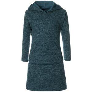 BEZLIT Mädchen Pullover-Kleid mit Kapuze Grün 128