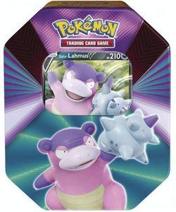Pokemon Sammelkarten Tin Box V-Power, Charakter:Lahmus-V