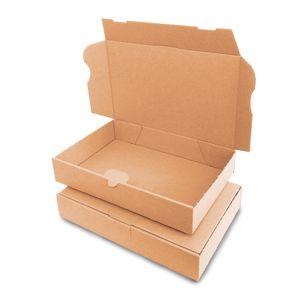 verpacking 25 Maxibriefkartons Versandkartons Faltschachtel Faltkarton Maxibrief 240 x 160 x 45 mm   Braun   MB-3