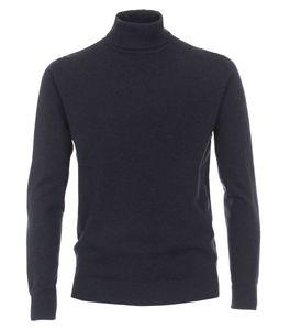 Redmond - Herren Rollkragen Pullover (501), Größe:M, Farbe:Blau(11)