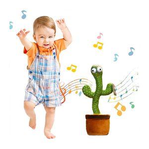Elektronische Kaktus Plüsch Spielzeug ,Schütteln Tanzen spielzeug mit dem song ,Frühen Kindheit Bildung Spielzeug Für kinder