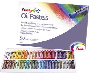 PentelArts Ölpastellkreide PHN4 50er Kunststoff Etui