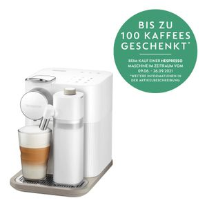 De Longhi EN 650.W - Kombi-Kaffeemaschine - 1 l - Kaffeekapsel - 1400 W - Weiß