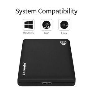 500GB Tragbare Externe Festplatte Datenspeicher Backups HDD, USB 3.0