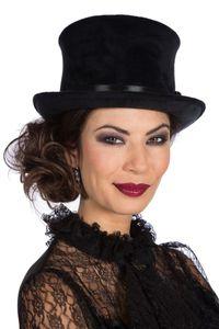 Kostüm Zubehör Zylinder Hut schwarz Karneval Fasching Halloween