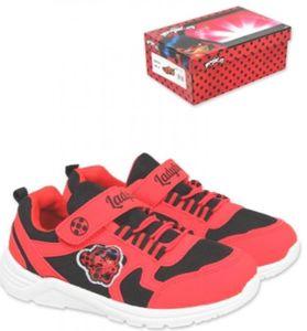 Miraculous Ladybug Blinkende Sneaker Sport Schuhe - Rot Gr. 26-33Rot