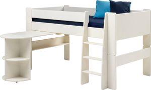 Steens - Steens for Kids Halbhochschlafer 90x200 cm - Material: Mdf - Verarbeitung: Weiss