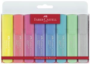 FABER-CASTELL Textmarker Textliner 154681 pastell 8er Etui
