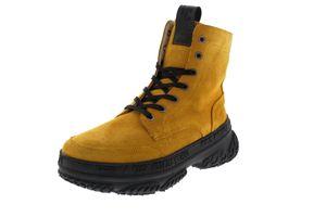 YELLOW CAB Schuhe Plateau Sneaker DAKOTA 8-d yellow suede, Größe:41 EU