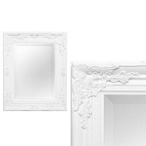 Spiegel HOUSE barock Antik-Weiß ca. 40x50cm
