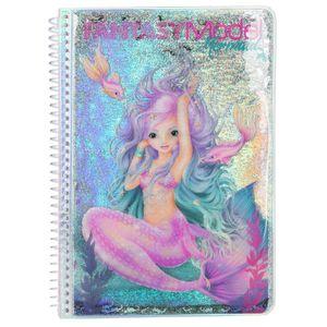 TOPModel Malbuch Fantasy Mermaid