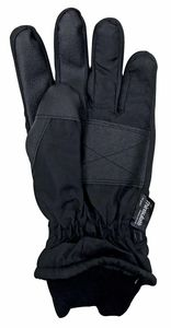 Thinsulate Herren 3M Schwarz Thermo Leicht Wasserdicht Extra Warm Outdoor Skihandschuhe mit Handschlaufe