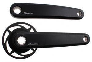 Miranda Kurbelsatz Delta für Bosch 2 E-Bike 170 mm schwarz