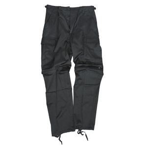 Zip-Off Feldhose Typ Bdu Schwarz