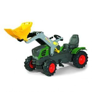 rolly toys Farmtrac Fendt 211 Vario Trettraktor mit Trac Lader, Maße: 142x53x81 cm; 61 108 9
