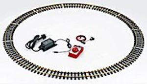 LGB Start-Gleis-Set mit Fahrgerät und Netzteil