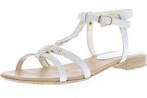 Vista Damen Sandaletten elfenbein, Größe:40, Farbe:Elfenbein