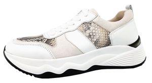 Gabor Vegas / Snake Damenschuhe Für lose Einlagen Schürer Weiß Freizeit, Schuhgröße:EUR 37.5 | UK 4.5