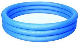 Bestway-Pool rund - 122x25 cm - blau - Kinderbecken / Freibad