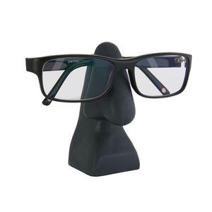 Brillenhalter Nase PVC anthrazit Brillenständer Brillenaufbewahrung