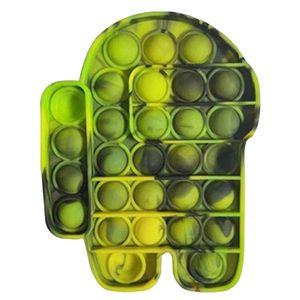 Push Pop It Pop Bubble Spielzeug,Verwendet für Autismus, Stress Abzubauen Braucht zappeln Spielzeug(Among Us H)