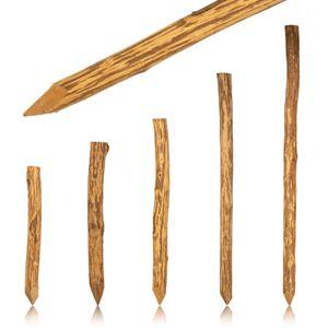 imprägnierter Zaunpfahl 150 cm aus Haselnuss Holz verschiedene Größen Staketenzaun