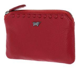 Braun Büffel Soave Key Case Red