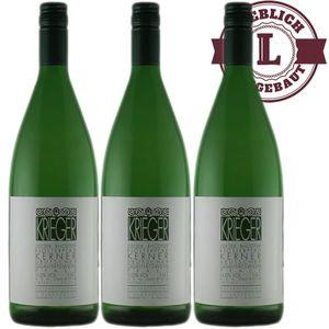 Weißwein Pfalz Kerner Weingut Krieger Rhodter Ordensgut lieblich (3 x 1,0l)